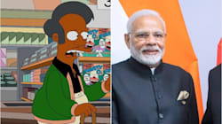 Argentine TV Welcomes Indian PM With Picture Of Apu From 'The
