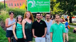 Le Parti vert du Québec, pour un coup de barre majeur en