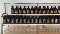 Faites le plein de bière à la 1re boutique Brasserie