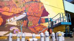 Los murales de la Central de Abastos son reconocidos por la ONU