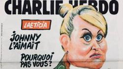 Laeticia Hallyday en mante religieuse en Une de Charlie
