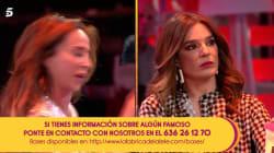 'Sálvame' vive una de sus tardes más tensas: María Patiño abandona el plató entre