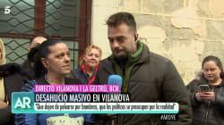 Un reportero de 'El programa de Ana Rosa' rompe a llorar en un