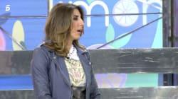 Paz Padilla, a punto de romper a llorar en 'Sálvame':