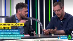 Cruce de acusaciones por Cataluña entre Maroto (PP) y Sicilia (PSOE) en 'El Objetivo' (La Sexta):