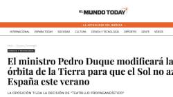 La inesperada acción de Pedro Duque con esta noticia de 'El Mundo