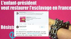 Attaquée par Ferrand, la France insoumise dément être à l'origine de ce visuel