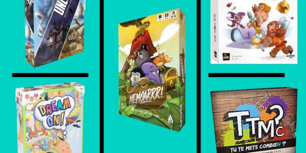 5 jeux de société pour s'amuser dès la première seconde