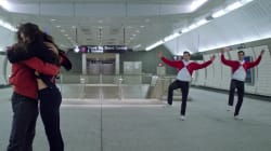 Un coreógrafo del New York City Ballet trasladó su obra al metro de