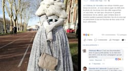 Le château de Versailles a refoulé cette couturière en robe