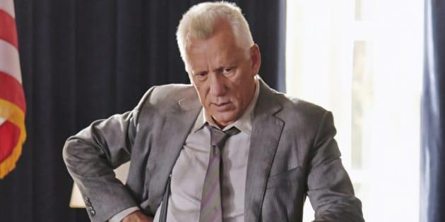 """James Woods incarnant le rôle de Martin Walker, chef du Secret Service, dans le film """"White House Down"""" sorti en 2013"""