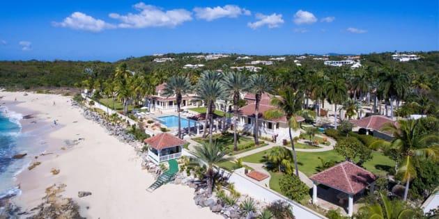 Ouragan Irma: la villa de Donald Trump à Saint-Martin ne ressemble plus à ça