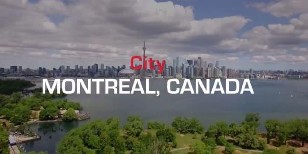 Ferrari fait la promotion du Grand Prix de Montréal avec des images de... Toronto
