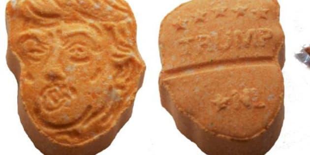 Las pastillas interceptadas por la policía alemana.