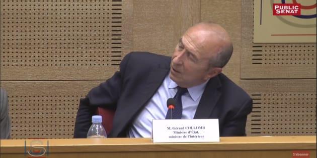 """Après """"le shopping de l'asile"""", Gérard Collomb indigne avec son """"benchmarking des migrants"""""""