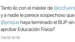 La brillante respuesta de Pablo Echenique a este tuit ofensivo sobre su