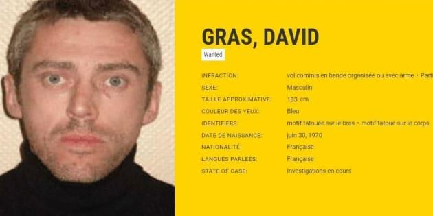 David Gras, un des braqueurs les plus recherchés d'Europe s'est rendu après 7 ans de cavale