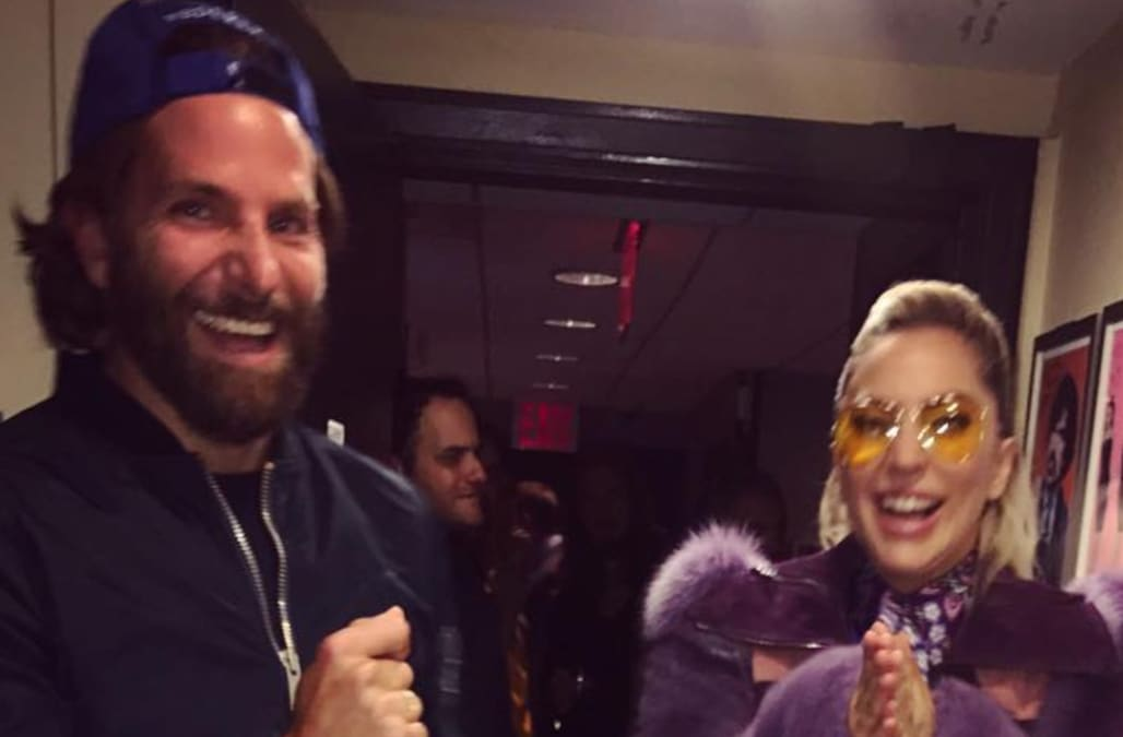 Bradley Cooper surprised Lady Gaga at 'SNL,' and it's the