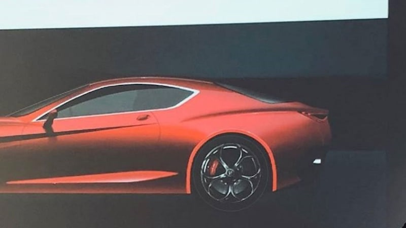 High Performance Coupe Hybrid Is Expected To Have 600 Horse