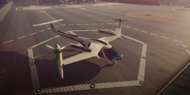 Uber s'allie avec la Nasa pour développer des taxis volants