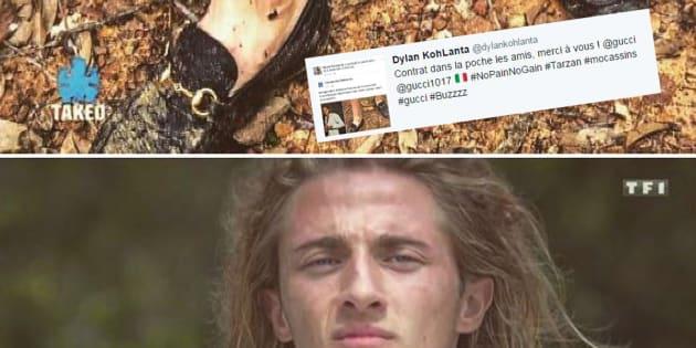Dylan de Koh-Lanta contacté par Gucci après le buzz autour de ses moccassins? La marque dément