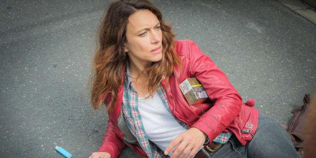 """Natacha Lindinger reprend le rôle de Mathilde Seigner dans la saison 2 de """"Sam"""" qui débute ce 8 janvier sur TF1."""