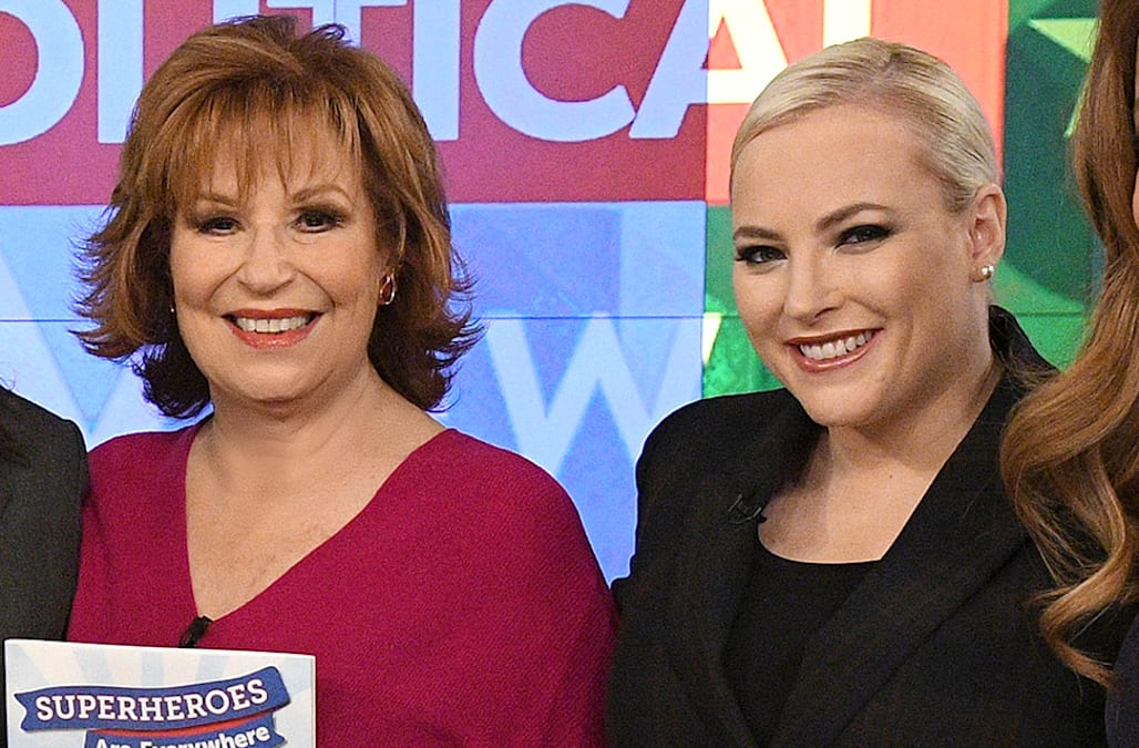Here's what 'The View' co-hosts Meghan McCain and Joy Behar had to say about those feud rumors - AOL