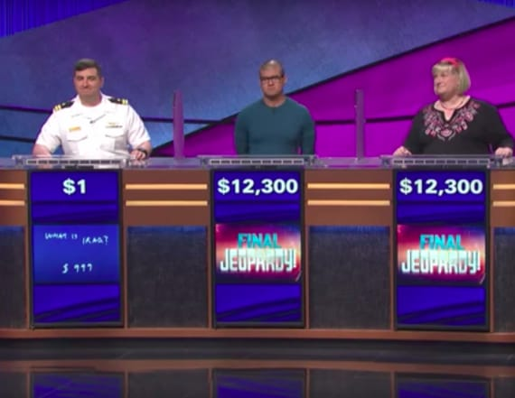 'Jeopardy!' contestant wins with tiny haul