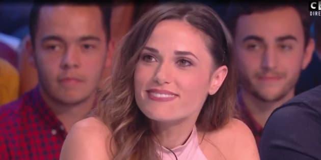 """Capucine Anav s'est un peu trop lâchée sur le plateau de """"Touche pas à mon poste"""", le 4 octobre dernier."""