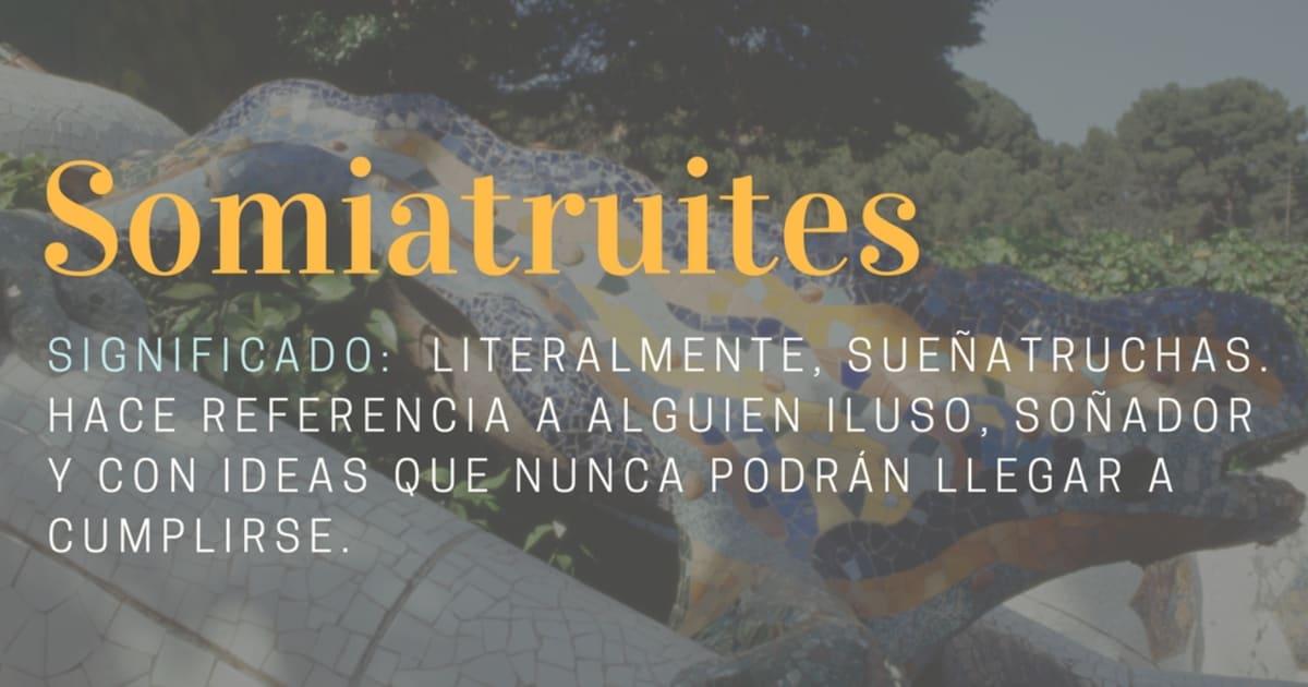 11 Palabras Del Catalan Que Deberiamos Importar Al Castellano El