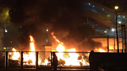 L'incendie de plusieurs voitures devant Le Parisien est d'origine