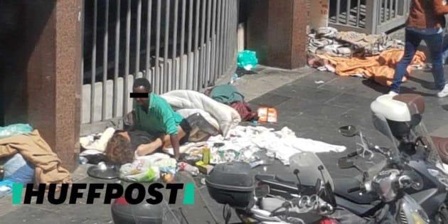 Roma: sesso in strada in Piazza Indipendenza, la foto indigna il web