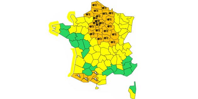 """D'après le bulletin de Météo France en date du 23 janvier au matin, l'épisode neigeux devrait """"progressivement se terminer en matinée de mercredi""""."""