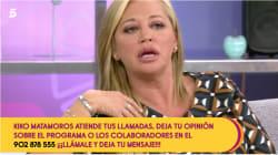 Belén Esteban estalla contra Carlos Lozano: