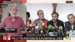 El tenso rifirrafe entre Willy Toledo y Ferreras en pleno directo de 'Al Rojo