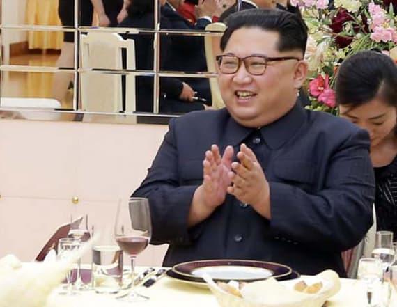 Take a look at North and South Korea's special menu