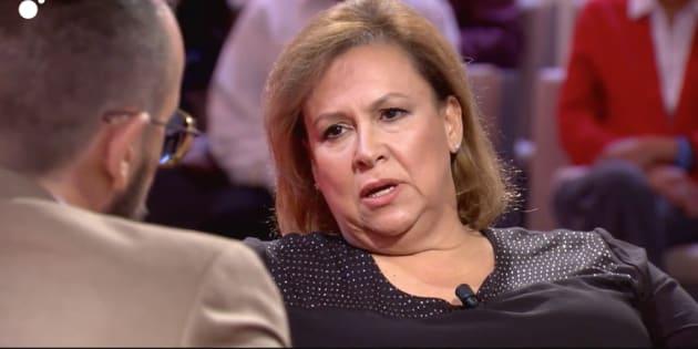 Victoria Henao en el programa de Risto Mejide.