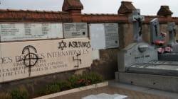 Pintan con símbolos nazis y antisemitas las tumbas de las Brigadas Internacionales del cementario de