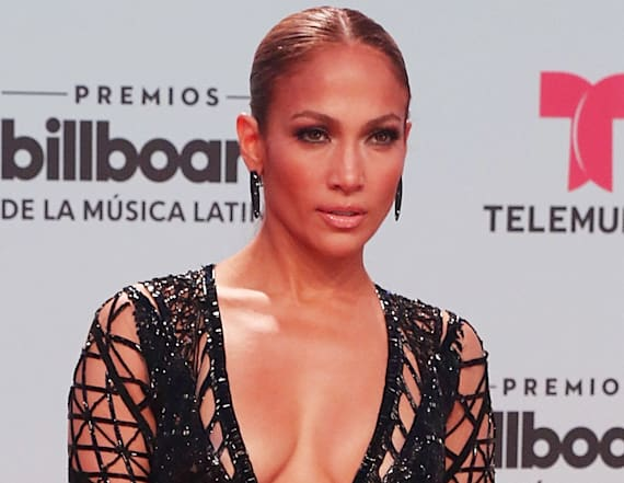 J.Lo leaves little to the imagination in racy outfit