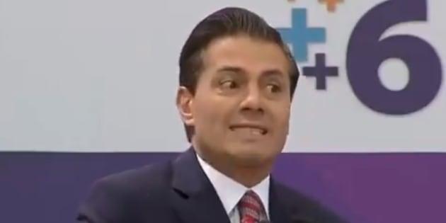 Peña Nieto ya no quiere