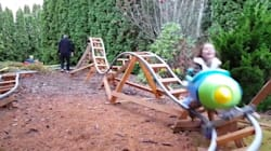 This Backyard 'Rollercoaster' Is Total