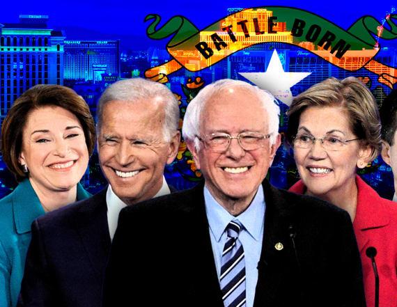 Live blog: Nevada caucuses