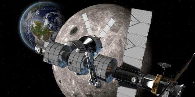 Pour construire une station spatiale autour de la Lune, la Russie va coopérer avec la Nasa