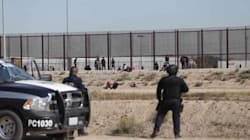 VIDEO: Migrantes buscan 'brincar' muro en la frontera entre Ciudad Juárez y El