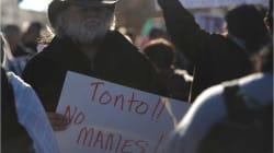 Habitantes de El Paso rechazan a Trump en su