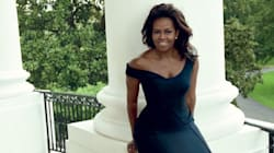 Michelle Obama très glamour en couverture de