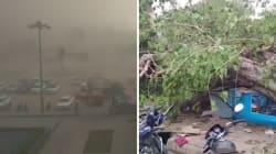 Les images de la violente tempête de sable qui a fait une centaine de morts en