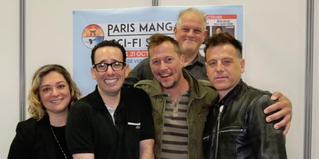 """Les acteurs de """"Parker Lewis Ne Perd Jamais"""" réunis à Paris 25 après la fin de la série"""