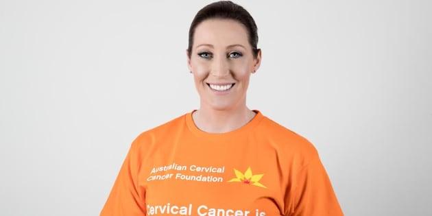 Jana Pittman is the Ambassador for Cervical Cancer Awareness week.