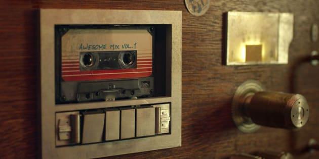 "la célèbre mixtape des ""Gardiens de la Galaxie""."